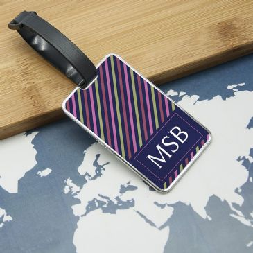 Gentlemen's Uniformed Monogrammed Luggage Tag